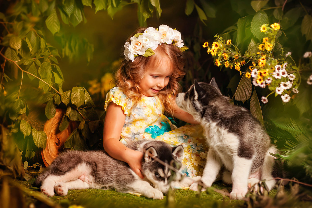 Красивые открытки и фото с ребятами и зверятами, рождеством открытки