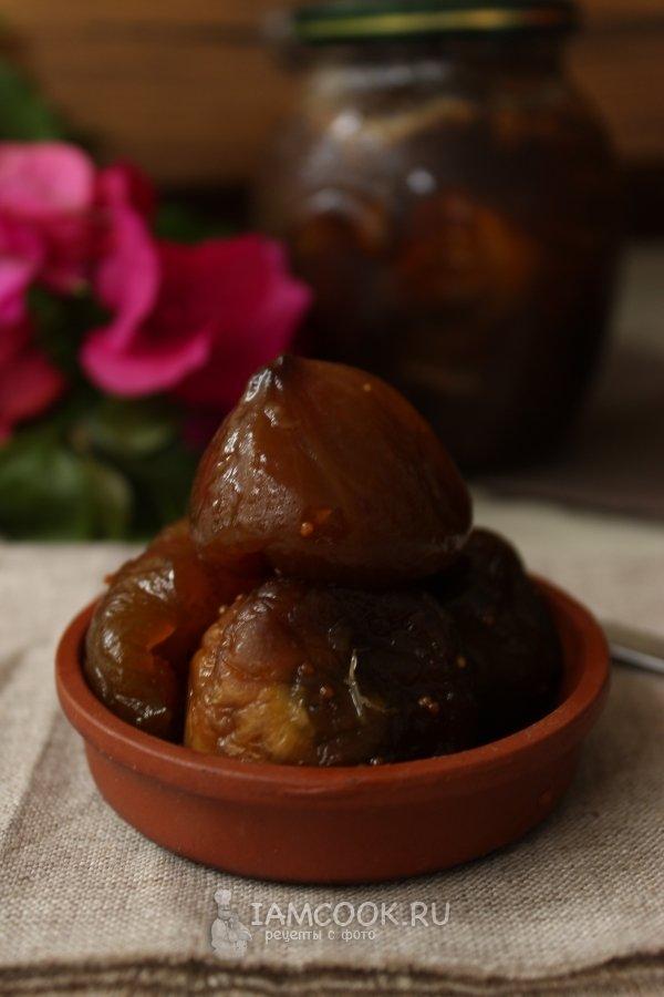 варенье из инжира рецепт приготовления фото