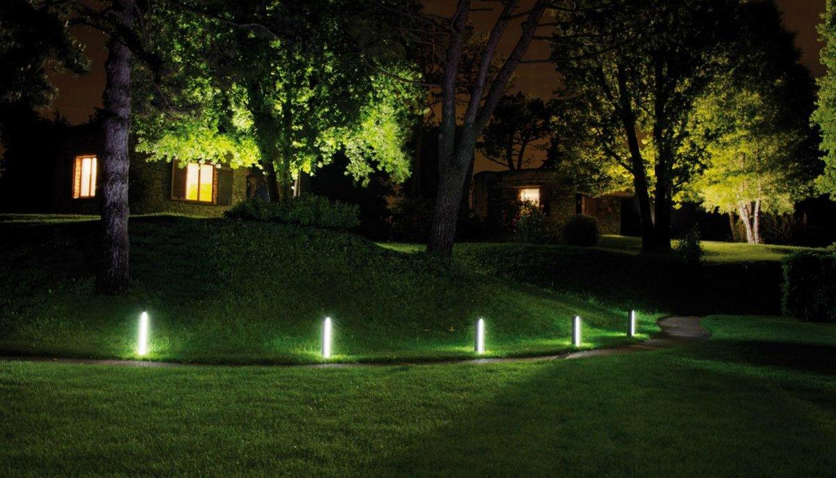Использование светодиодных светильников в ландшафтном дизайне