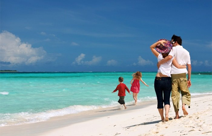 фото семейные на пляже фото