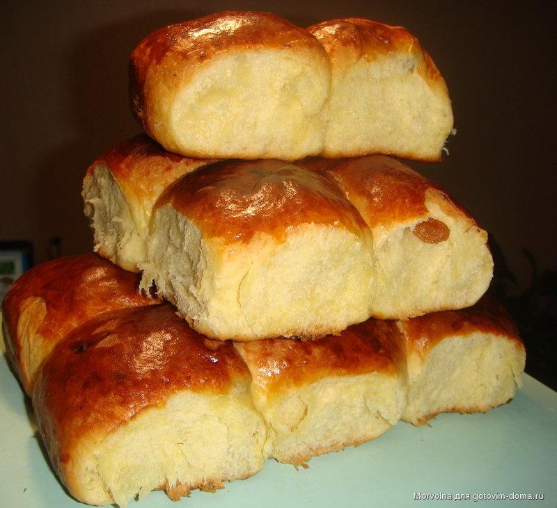 Воздушное тесто для булочек