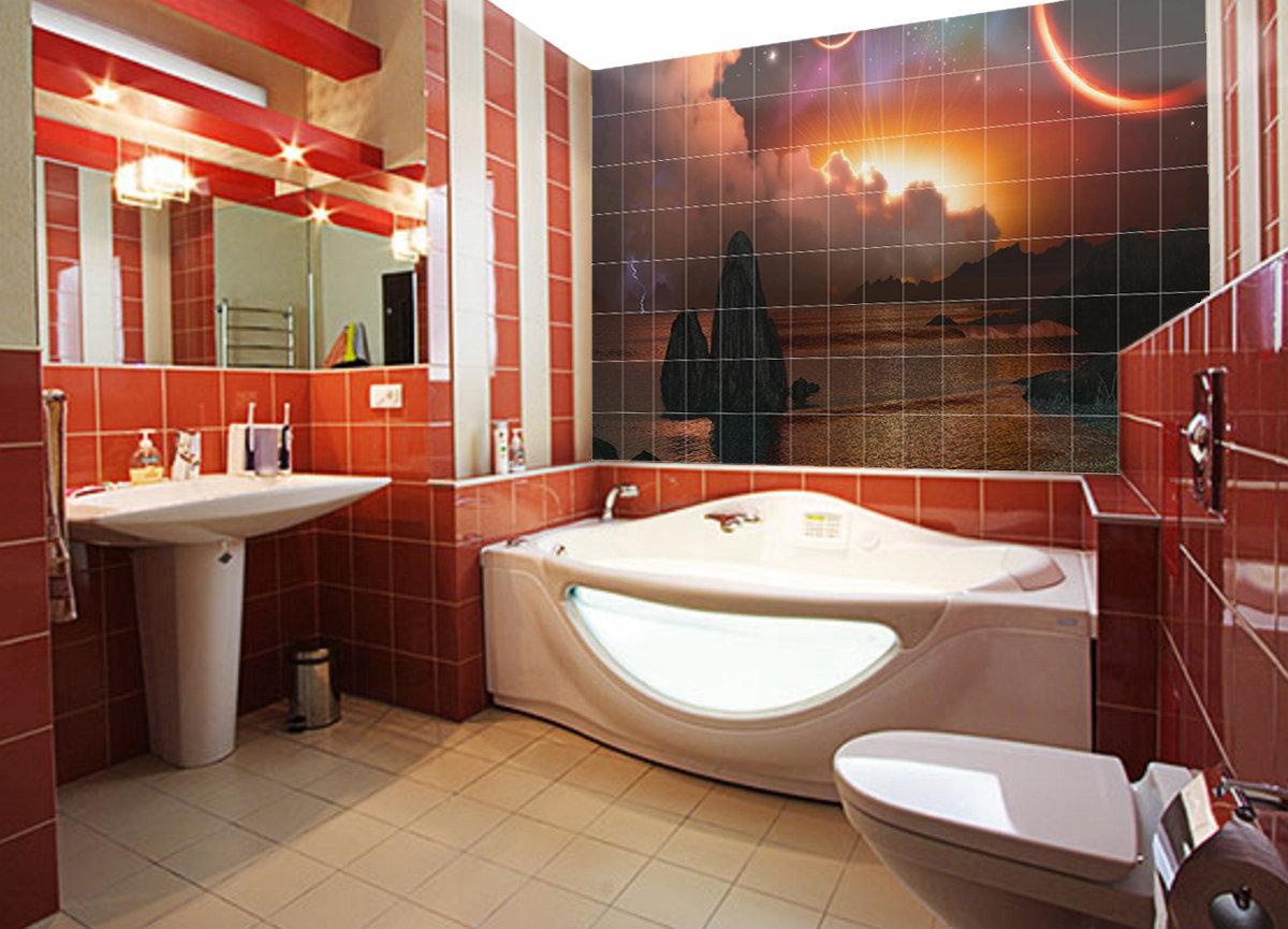 Картинки ванных комнат ремонт