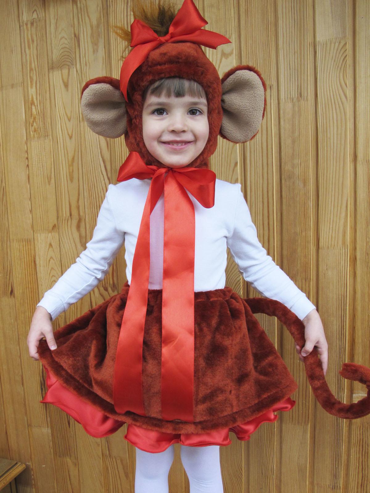 Как сшить костюм обезьянки для девочки