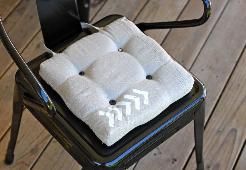 картинка подушка для стула своими руками сделать кованые ворота