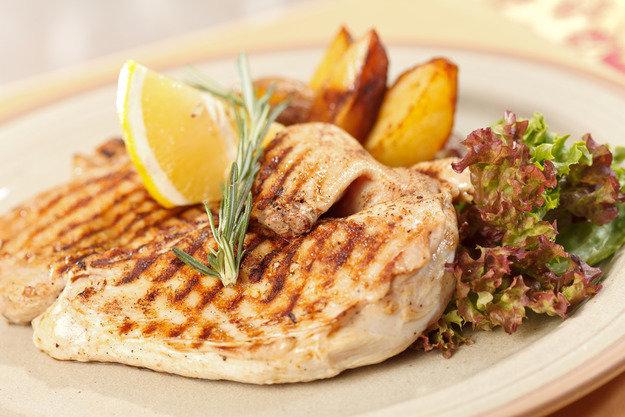 Низкокалорийные блюда из грудки