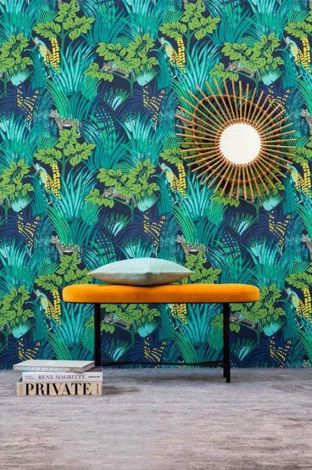 Title: 10 Modern Wallpaper Inspirations The Latest Wallpaper designs for Summer 2016 are such a powerful tool for home decor. Interior Design Ideas suggest that