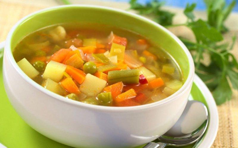 вегетарианские супы рецепты при диете