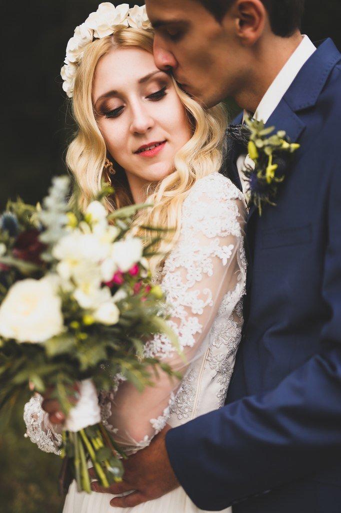 Мятная сентябрьская свадьба
