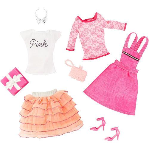 Одежда, обувь и аксессуары для Барби 'День рождения', Barbie [CFY08] Одежда, обувь и аксессуары для Барби 'День рождения'