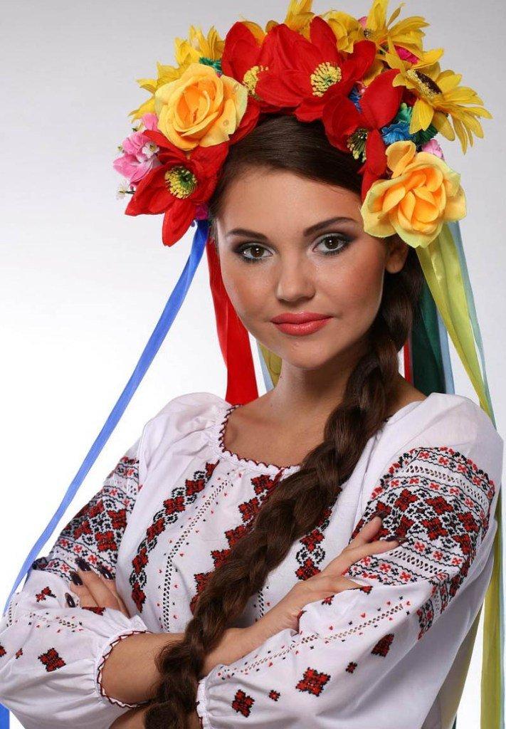 фото украинок в национальных костюмах это все сторону