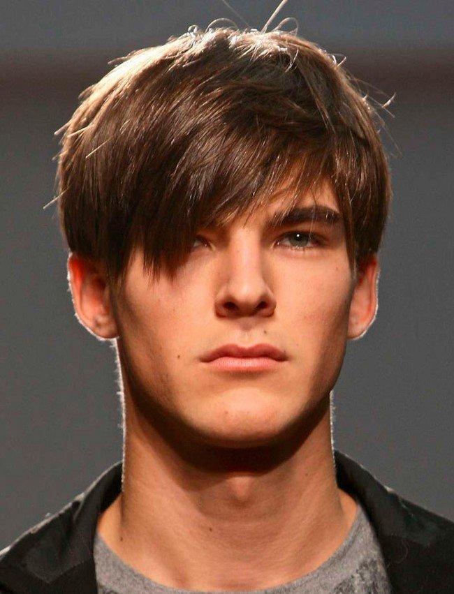 прически на средние волосы для мужчин