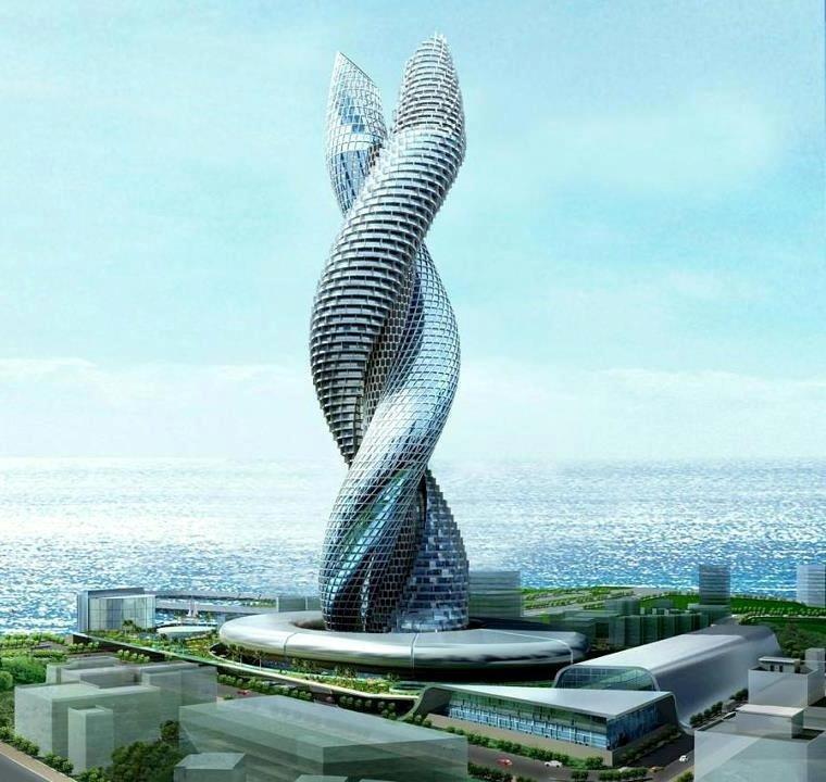 Архитектура будущего | Alter Idea | Alter Idea Проект Сobra Towers Kuwait