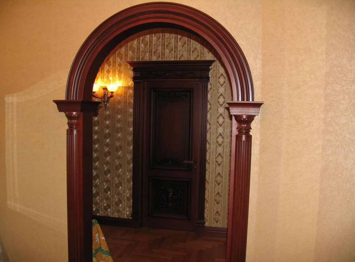 готовые деревянные арки в дверной проем фото меня