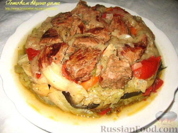 Узбекская дамлама рецепт с фото