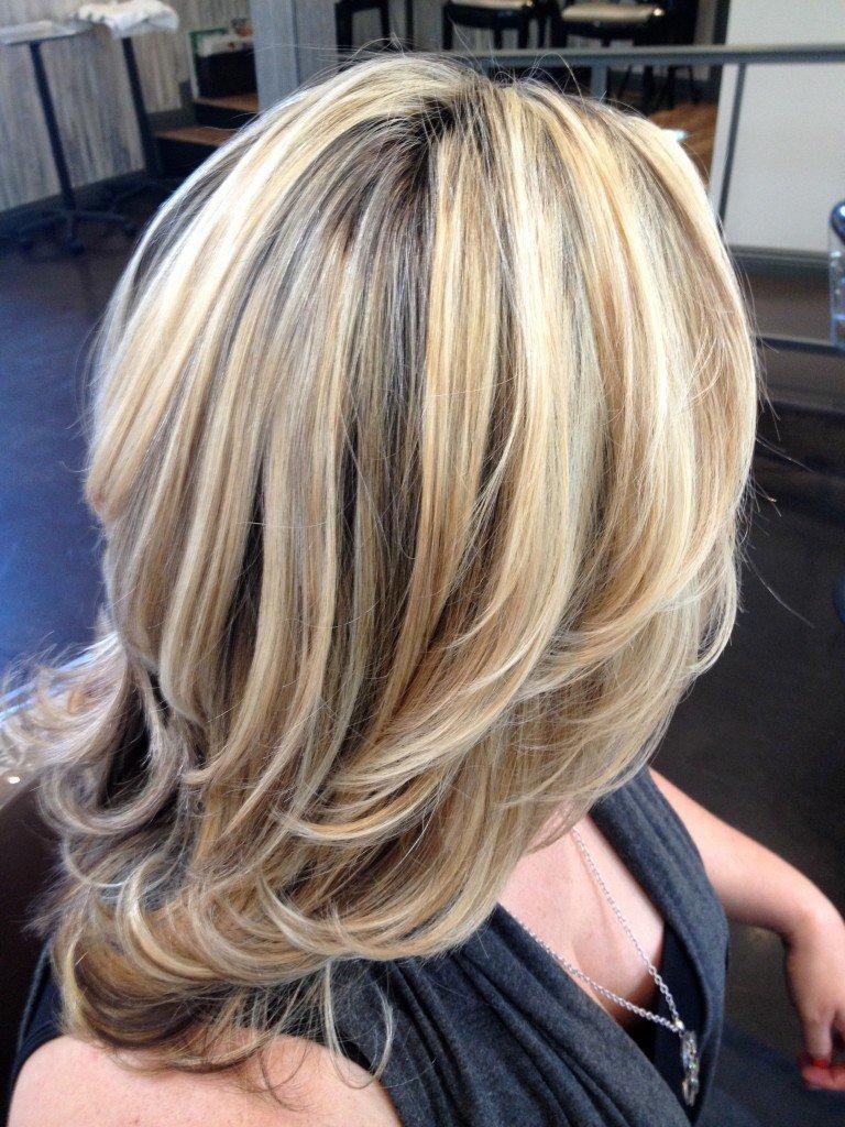 Окрашивание волос блондирование фото