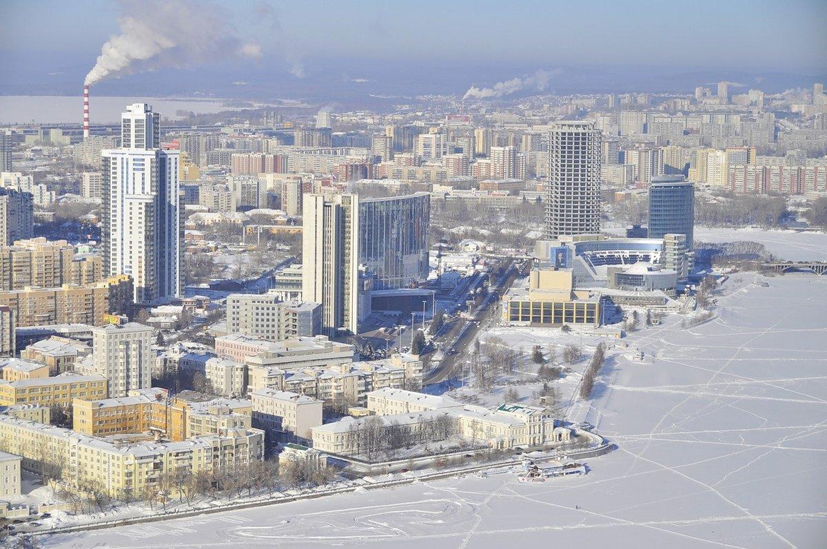 Камышового, картинки екатеринбург зимой