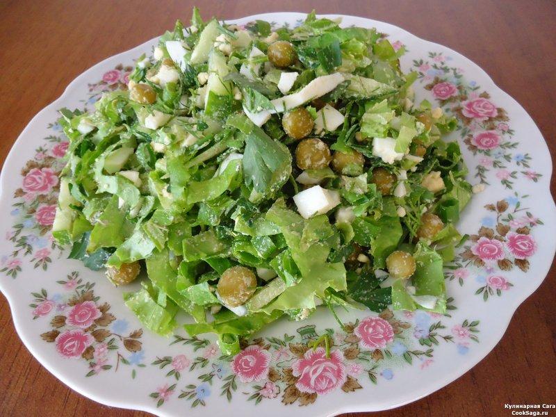 Рецепты с листьями салата с фото