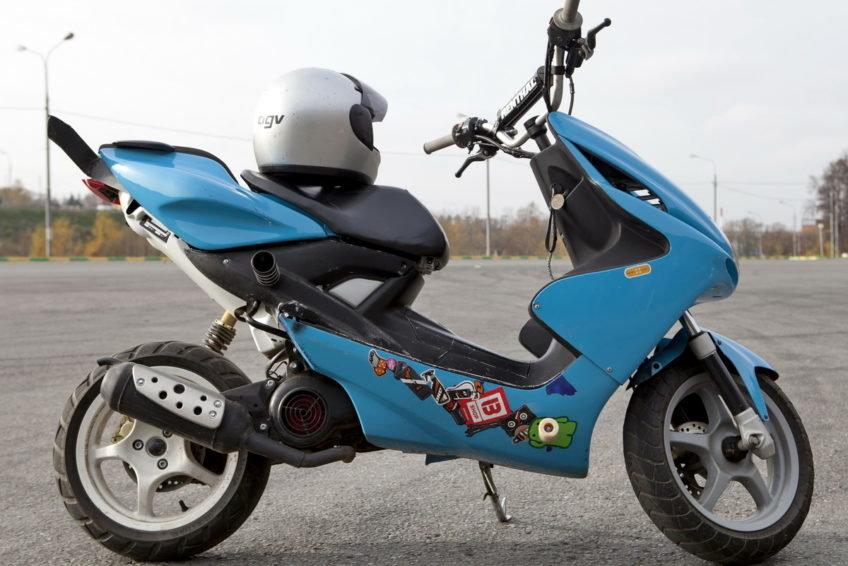 Подробные картинки скутера