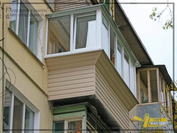 Ремонт балкона под ключ хрущевка дарница.