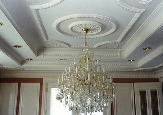 Потолки - дизайн интерьера