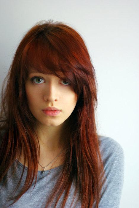 рыжие волосы зеленые глаза фото
