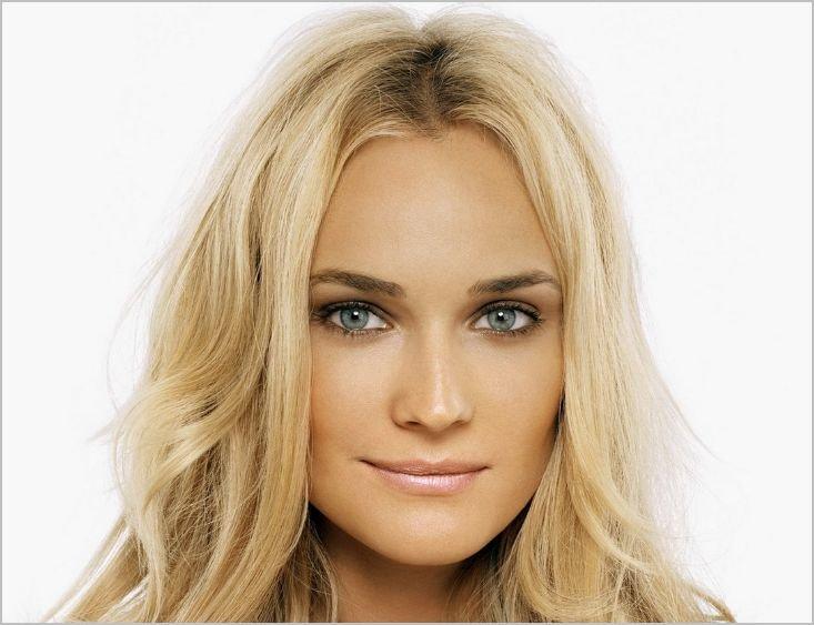 Макияж для блондинки с серыми глазами фото