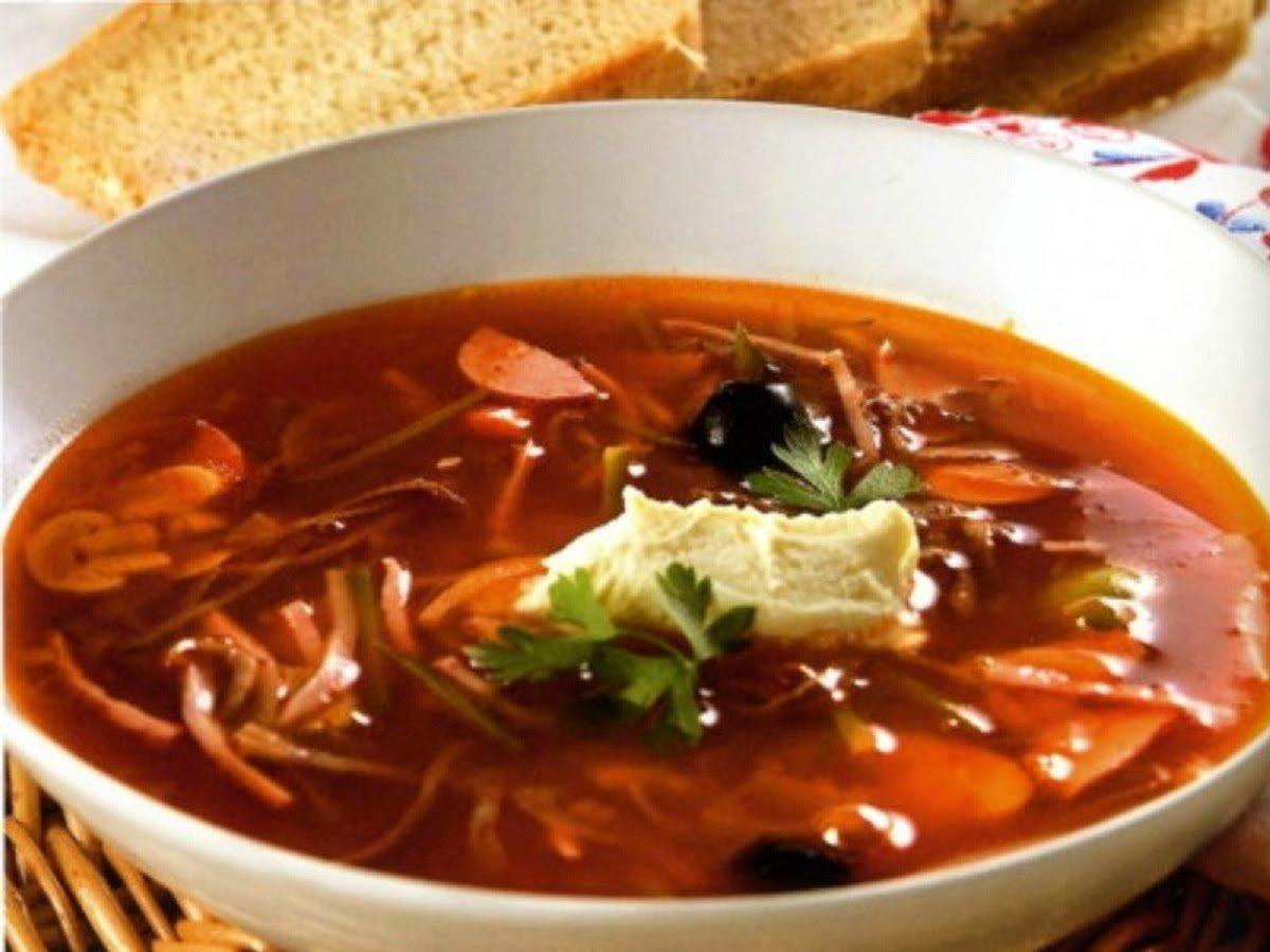 Кулинарные рецепты солянка сборная мясная