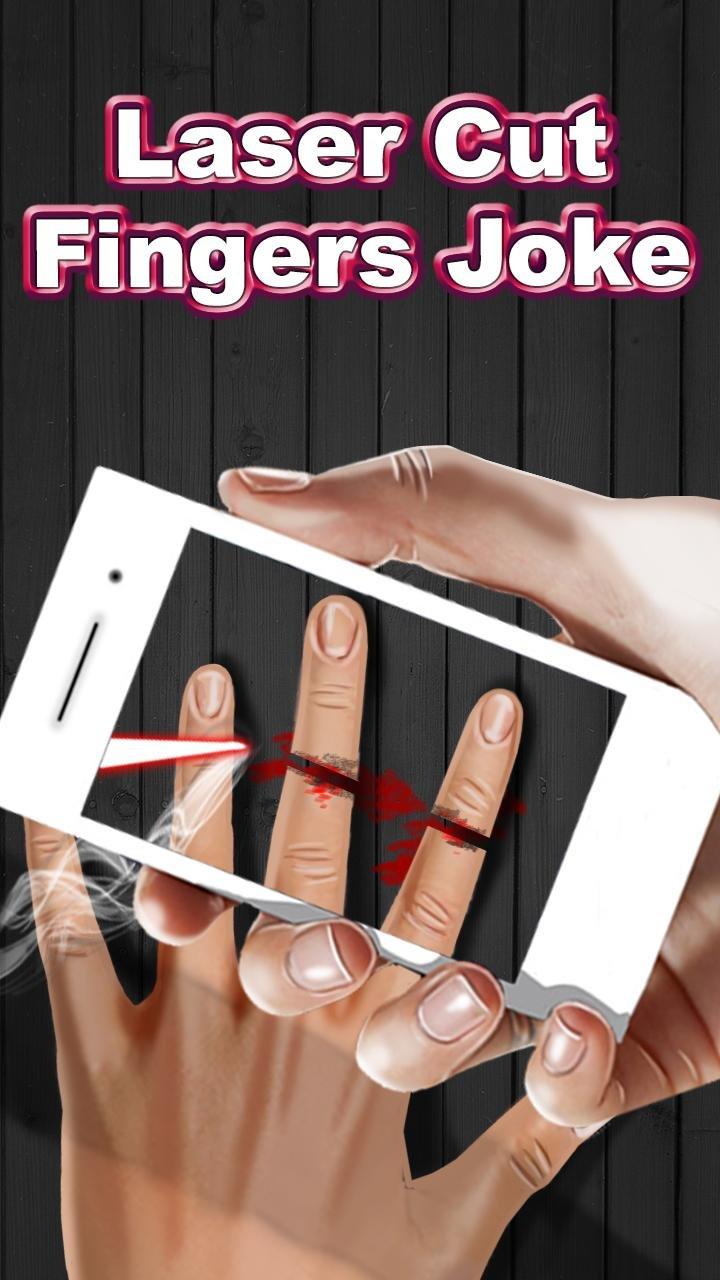 Отрезать палец на андроид
