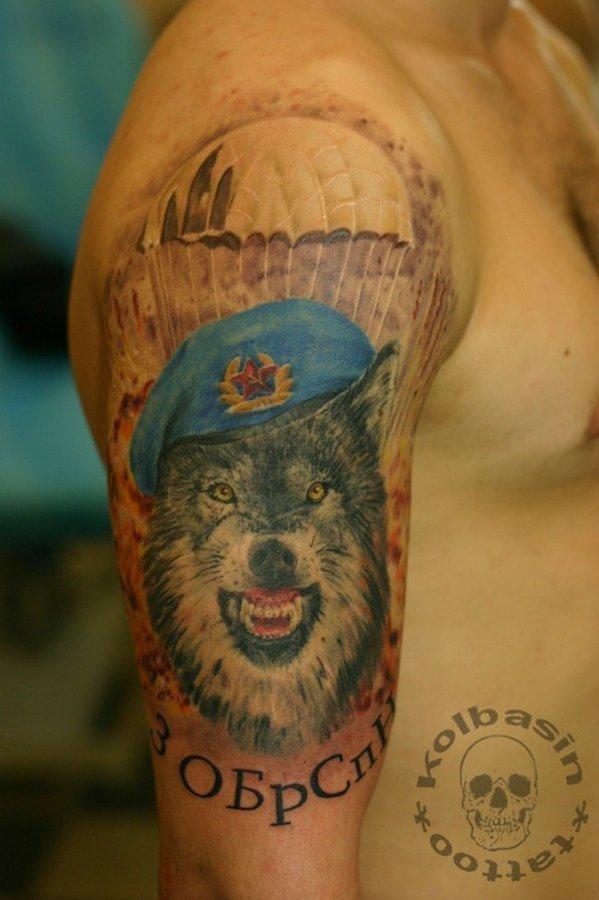 картинка вдв волк отдать должное
