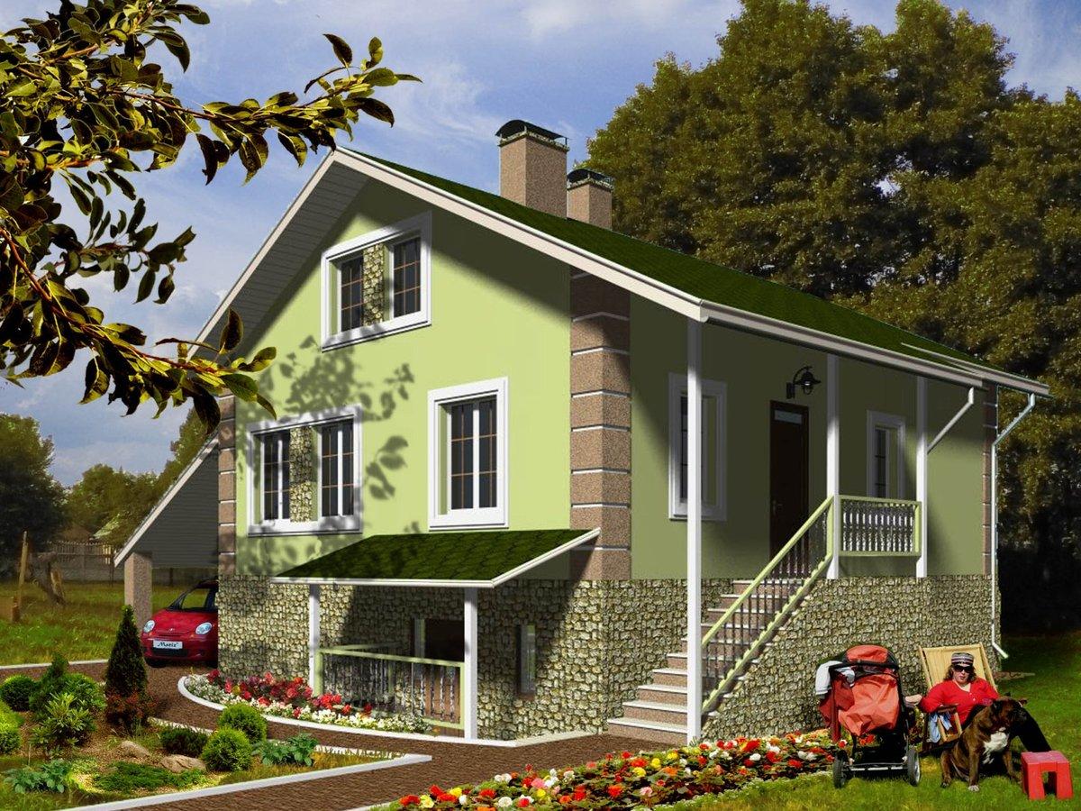 был основан фасад дачного двухэтажного дома фото фото прежних лет