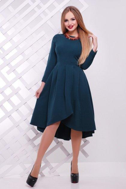 Изумрудные платья до колен