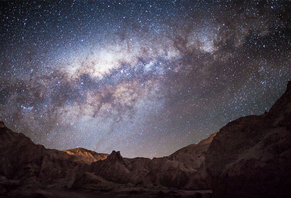 ночное звездное небо астрофотография него второе название
