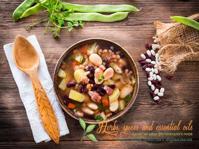 Интересная статья о том, какие специи для фасоли нужно добавлять в блюда, в каких количествах, как улучшить вкус фасоли с помощью пряностей и специй, рецепт
