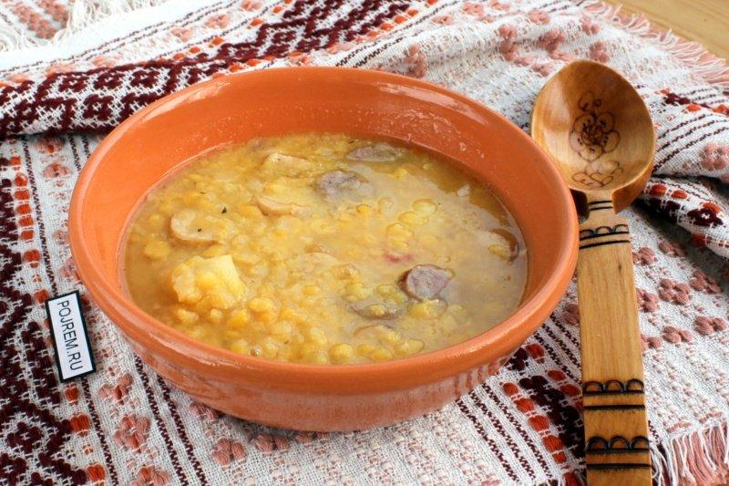 Гороховый суп в казане рецепты с фото