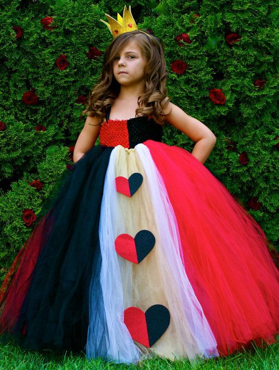 Червовая дама костюм детский