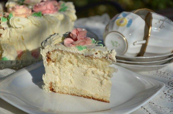 Торт птичье молоко пошагово с фото