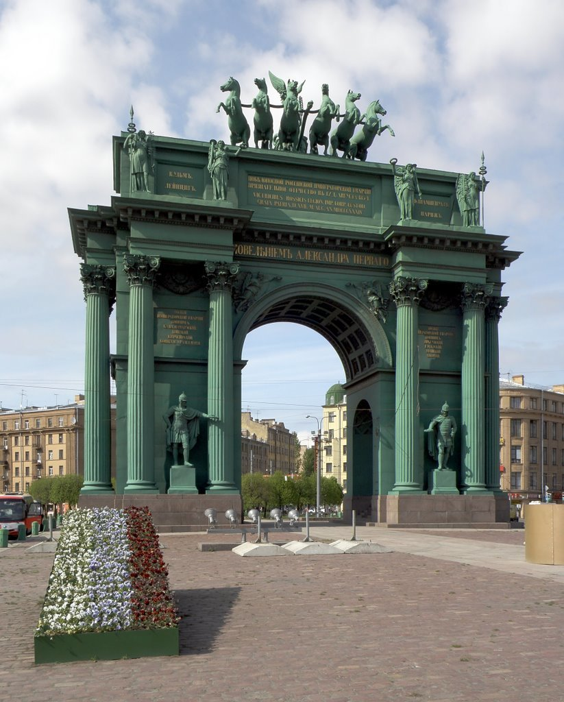 Ворота питер картинки