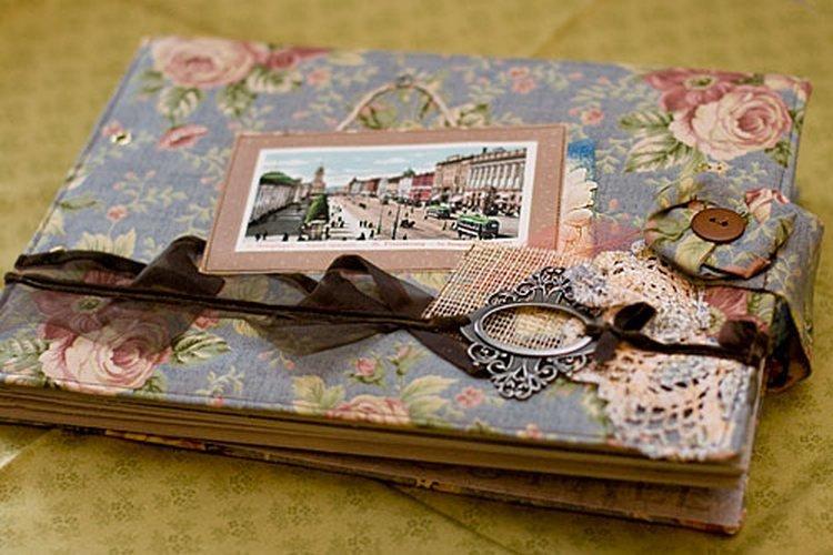 Фотоальбом из открыток