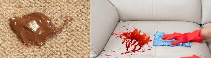 Чем отмыть пятна от фукорцина на ковре фото