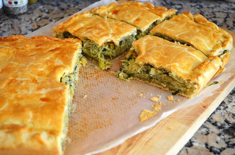 Дрожжевой пирог с капустой рецепт с фото