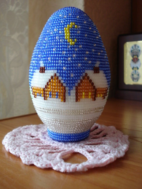 новогоднее яйцо