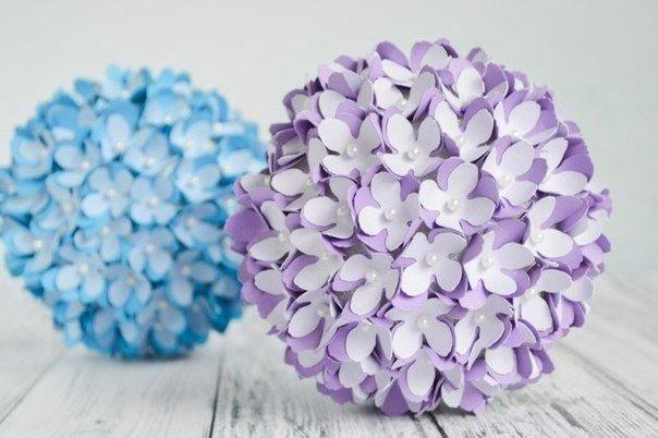 Фото цветов как шар