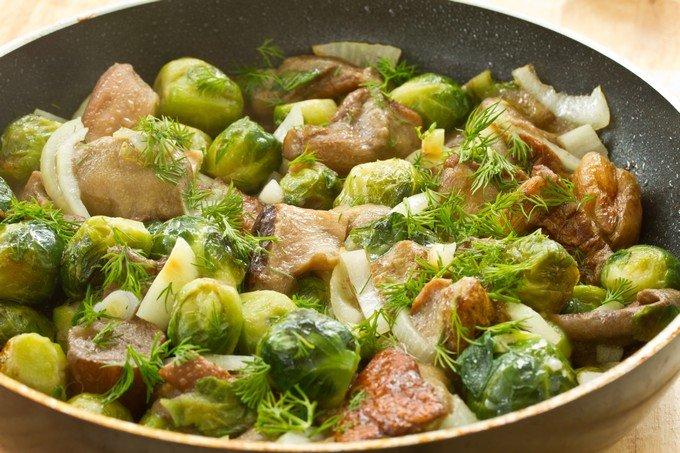 фото брюссельская капуста рецепты