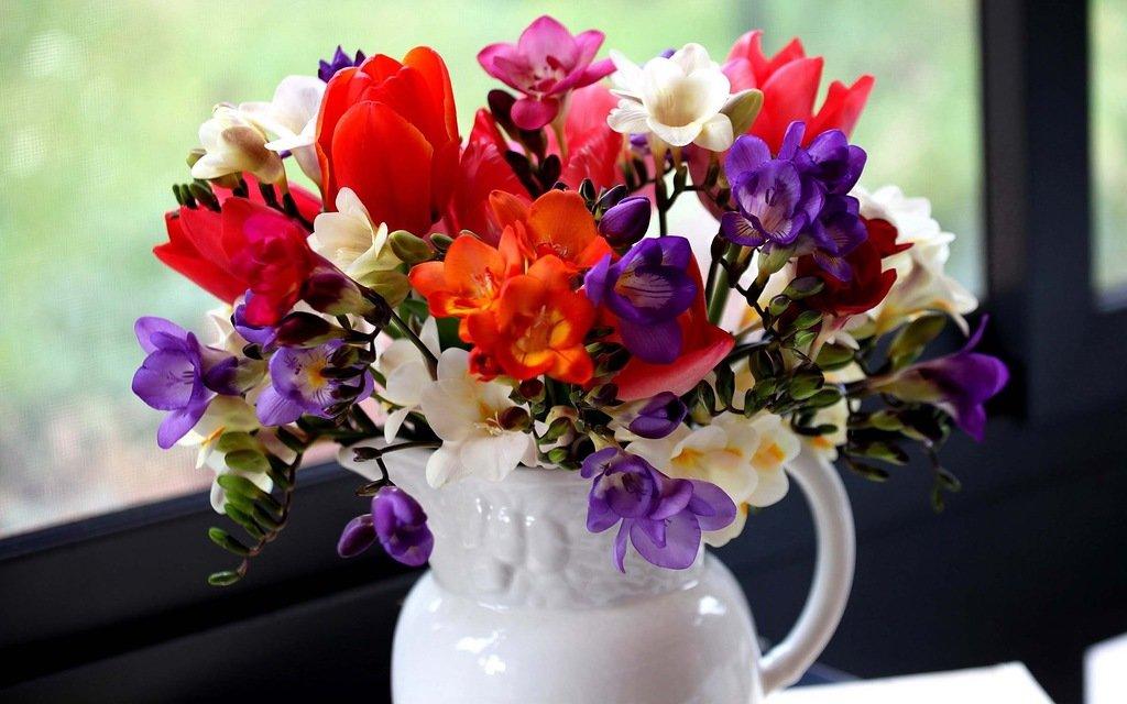 Весенние цветы срезка