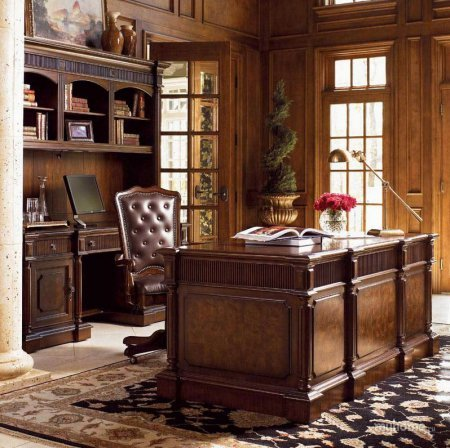 кабинет в английском стиле