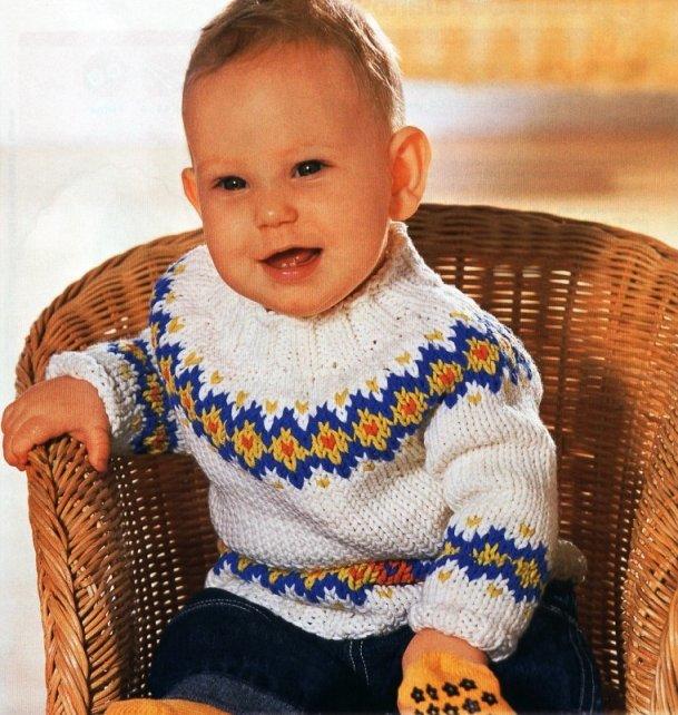 вязание для мальчиков рукав реглан