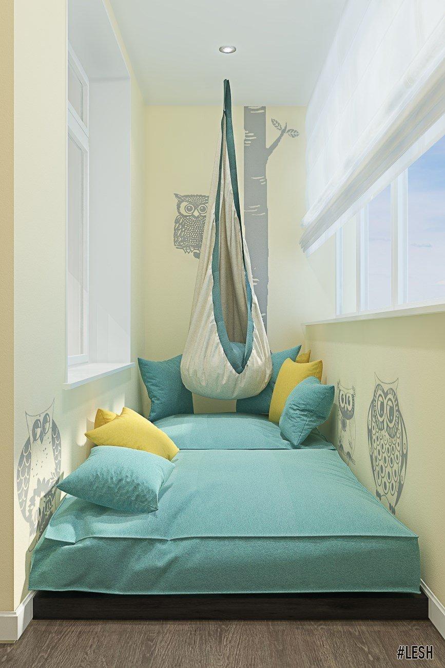 """Мягкое спальное место на балконе"""" - карточка пользователя me."""