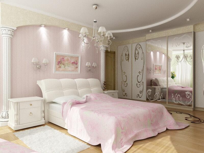 нежная спальня фото обожающий изображать простого