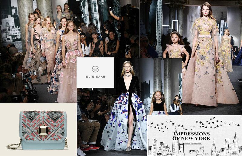 Коллекция Elie Saab Houte Couture Fall Winter 2016 2017. Вечерние платья в оттенках рассветного и сумеречного неба! | Новости