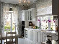 Предлагаем вашему вниманию фото-подборку кухонных интерьеров, в которых акцент сделан на стильную креативную столешницу.